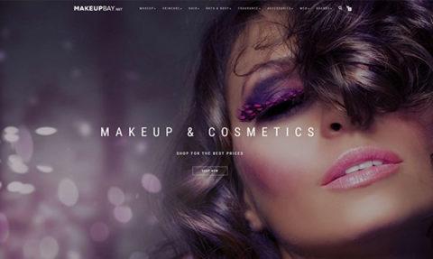 Makeup Bay Website